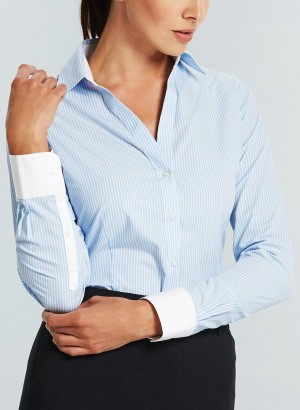 Gloweave Womens Shirts Blue Full Shot