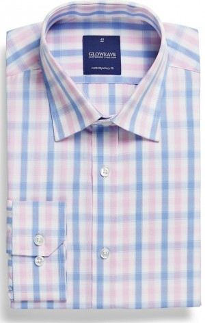 Gloweave Shirt Check Pink