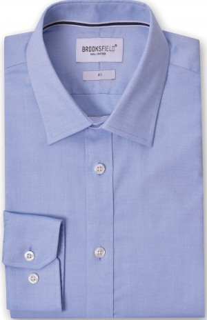 Brooksfield Shirt Blue