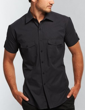 Black Gloweave Shirt Full Shot