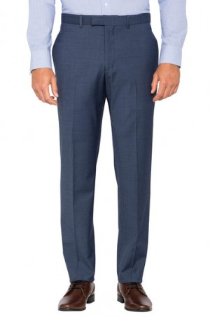 Save $40 Pierre Cardin Slim Suit Pant Blue