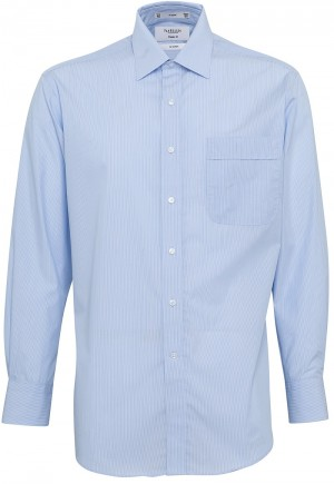 Van Heusen Shirt Blue Full Shot