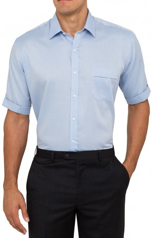 Blue Shirt Front View