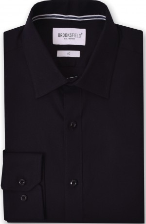 Brooksfield Shirt Black