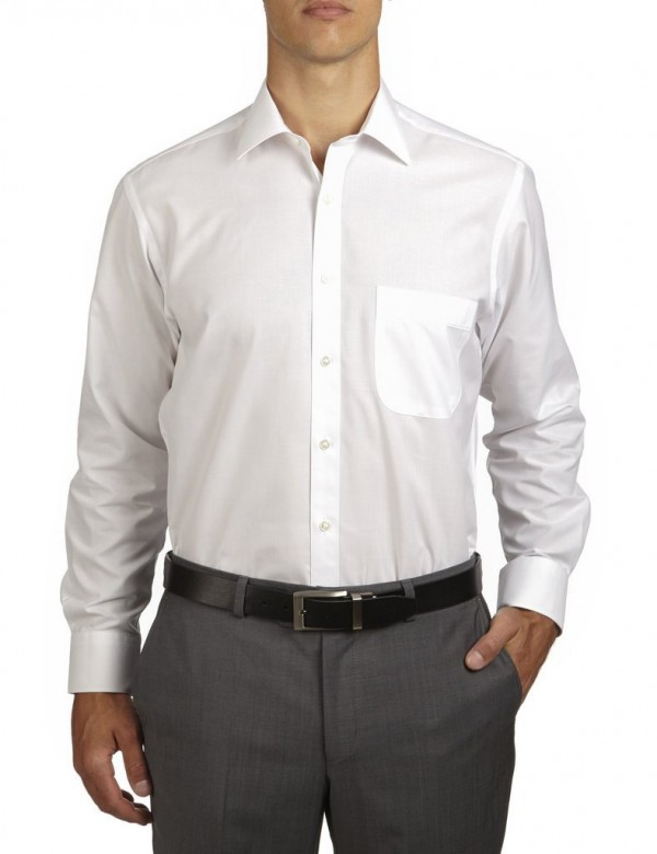 Ganton Shirts White Full shot
