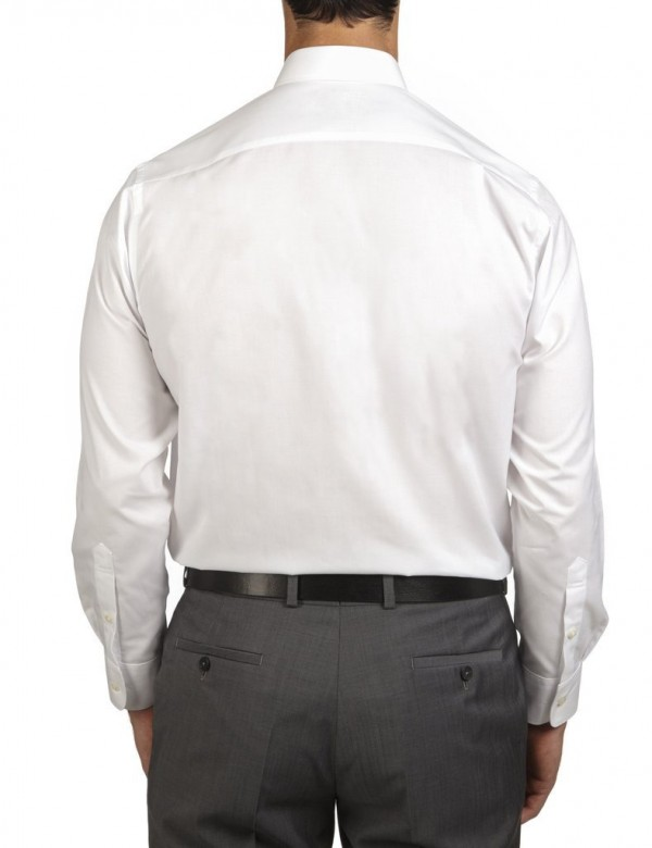 Ganton Shirts White Rear View