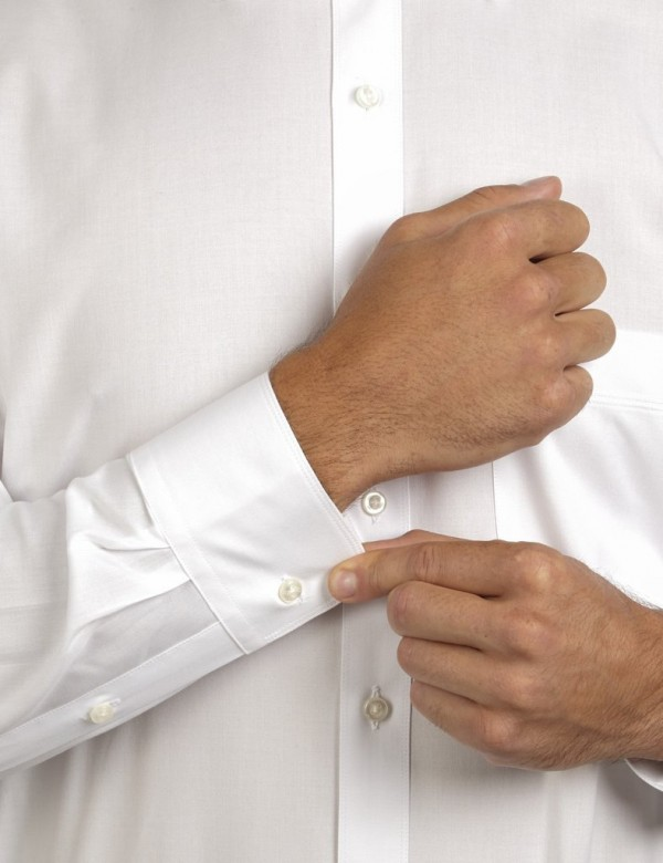 Ganton Shirts White Sleeve shot