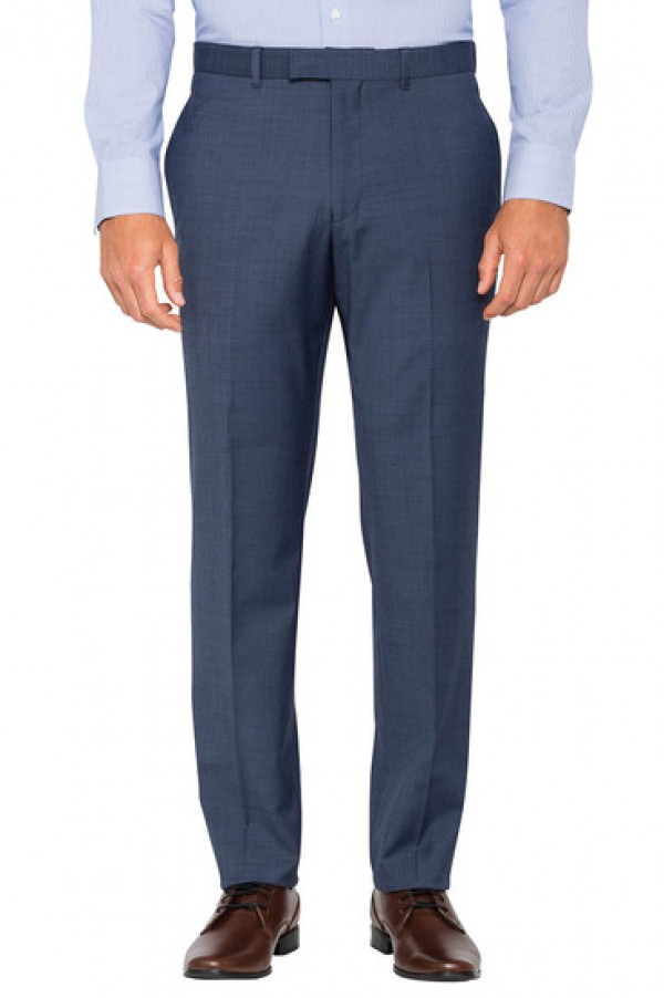 Pierre Cardin Suit Pant Blue