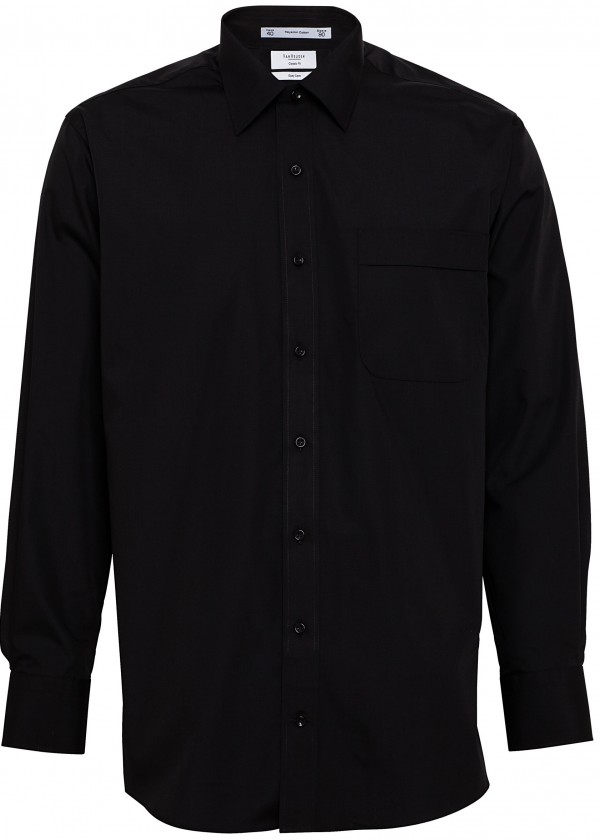 Van Heusen Shirt Black Full Body
