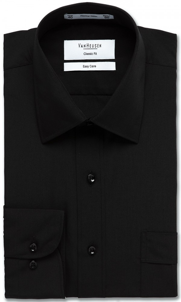 Van Heusen Shirt Black