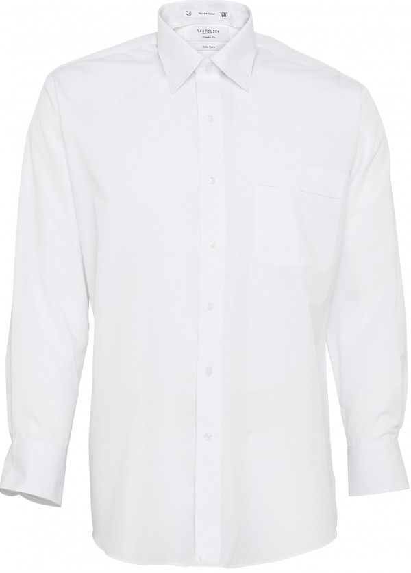 Van Heusen Shirt White Full Body