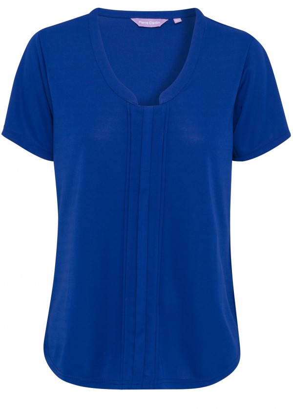 Pierre Cardin Womens Cobalt Top