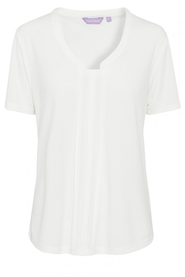 Pierre Cardin Womens Ivory Top