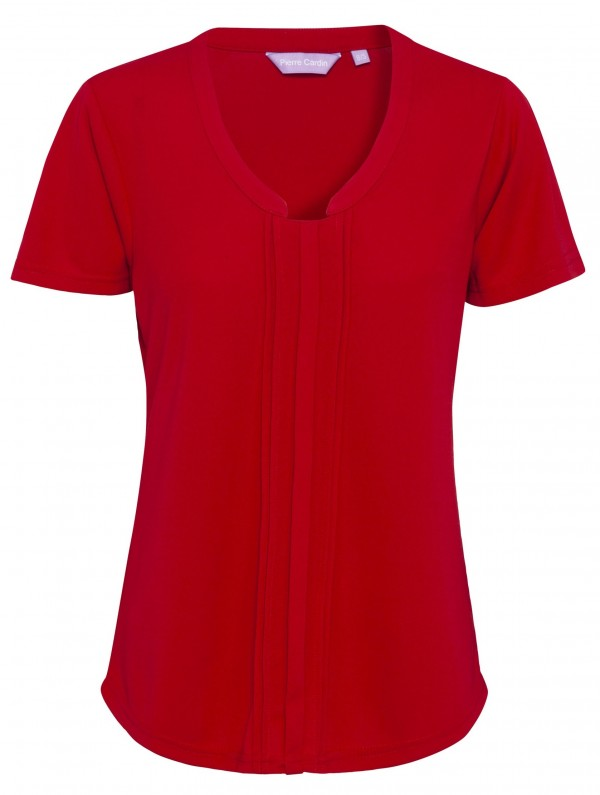 Pierre Cardin Womens Red Top