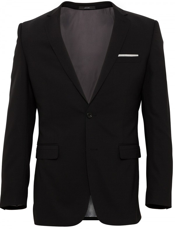 Pierre Cardin Suit Black
